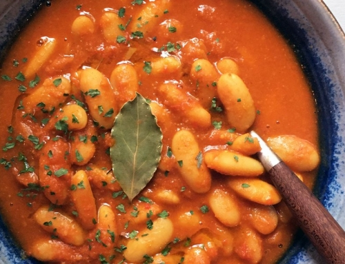 Vegan Fabada Asturiana